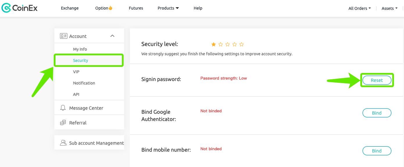 How to bind Google Authenticator? – CoinEx Help Center